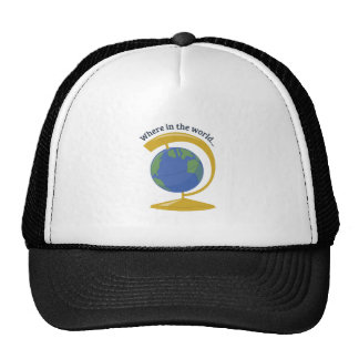 Where In The World Trucker Hat