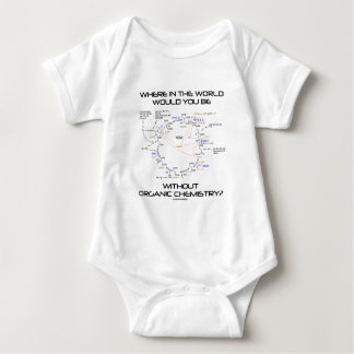 Where In The World Would You Be Organic Chemistry? T Shirt