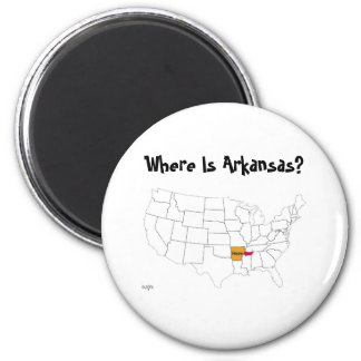 Where Is Arkansas? Magnet