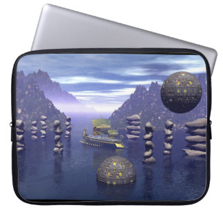 Where is Atlantis? Surreal  Laptop Case Computer Sleeve