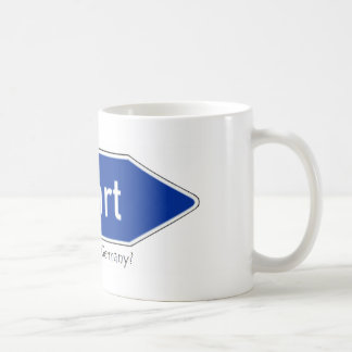 Where is Ausfarht, Germany? Classic White Coffee Mug