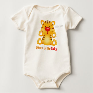 where is baby  tiger - Baby T Shirts
