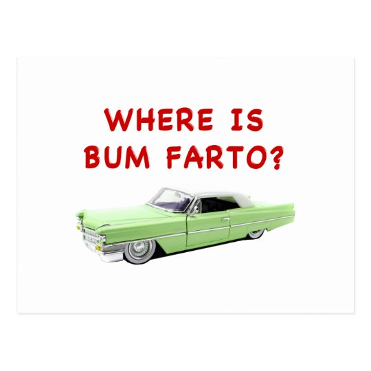 Where is bum farto? postcard