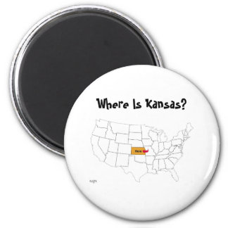 Where Is Kansas? Magnet