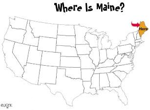 Maine Postcards Zazzle