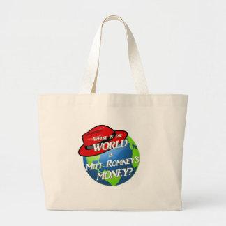 Where is Mitt's Money? Tote Bag