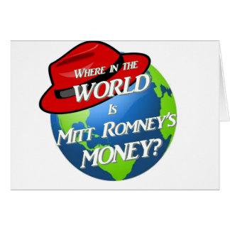 Where is Mitt's Money? Card