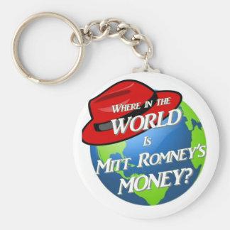 Where is Mitt's Money? Keychains