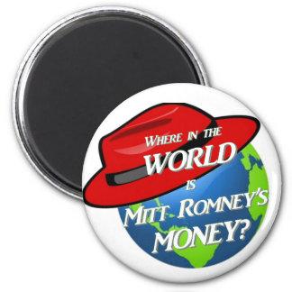 Where is Mitt's Money Refrigerator Magnet