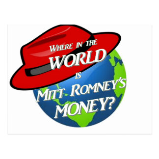 Where is Mitt's Money Postcard