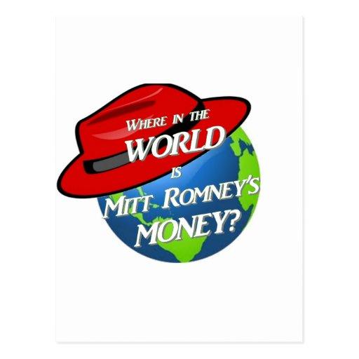 Where is Mitt's Money Postcards