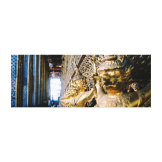 Where is my Buddha! Postcard Stretched Canvas Prints