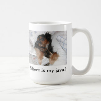 Where is my java Cavalier King Charles Spaniel Mug