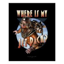 "Where is my Jet Pack?  Poster (16x20"")"