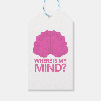 Brain Gift Tags   Zazzle