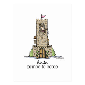 Where is my Prince? Postcard