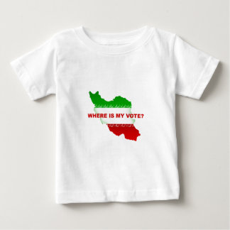 Where is my vote? baby T-Shirt