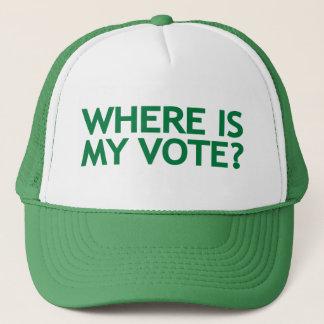where is my vote (Iran Election) Trucker Hat