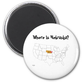 Where Is Nebraska? Magnet
