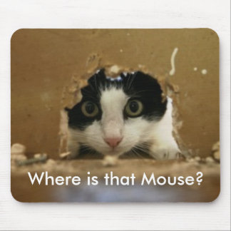 Where is that Mouse? Mouse Pad