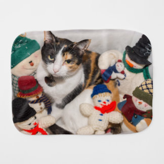 Where Is The Cat Burp Cloth