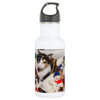 Where Is The Cat Stainless Steel Water Bottle