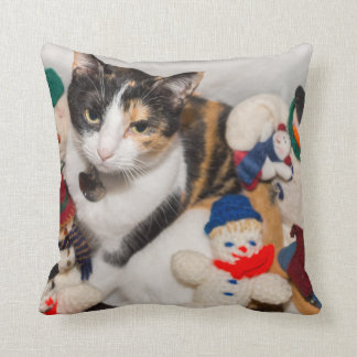 Where Is The Cat Throw Pillow