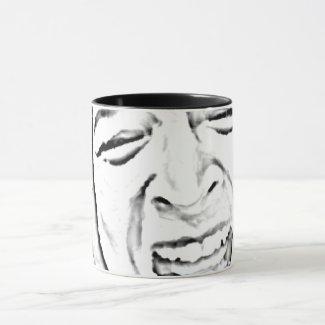Hilarious Crying Person Face Mug