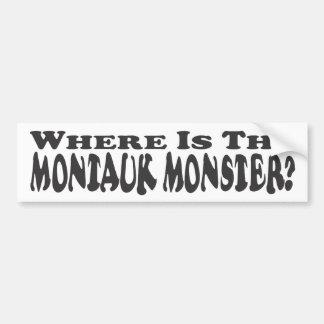 Where Is The Montauk Monster? - Bumper Sticker