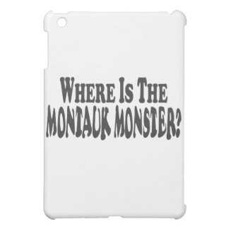 Where Is The Montauk Monster? - Two Lines Cover For The iPad Mini