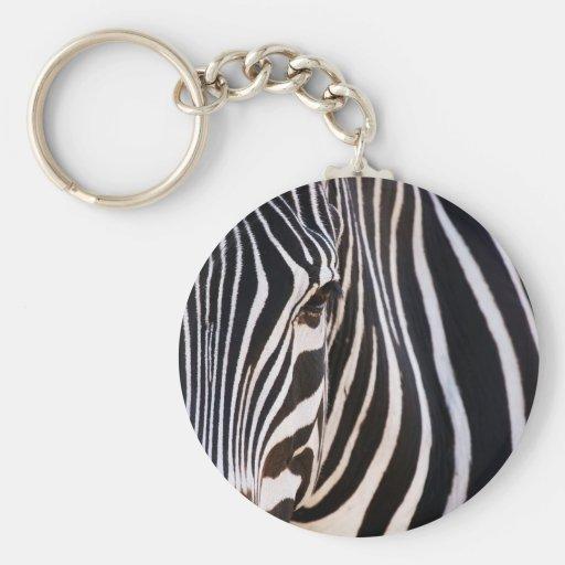 Where Is The Zebra? Keychain