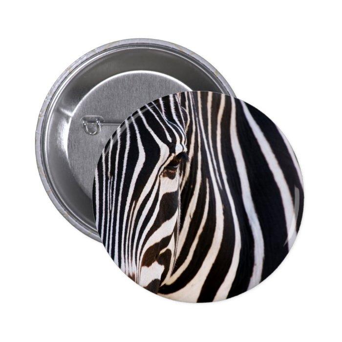 Where Is The Zebra? Pinback Button