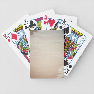 Where land meets sea bicycle playing cards