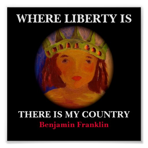WHERE LIBERTY IS - POSTER