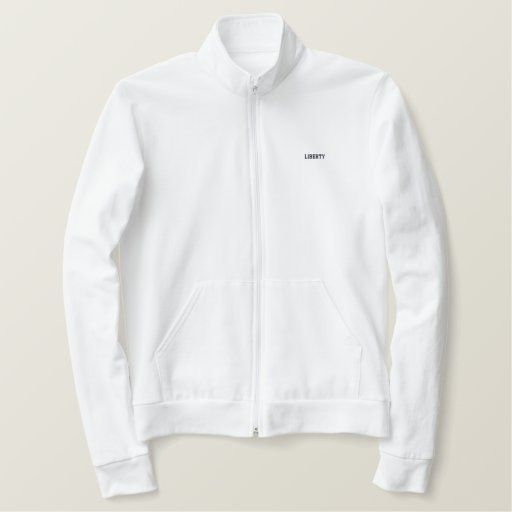 Where LIBERTY is there is my Country -Track jacket