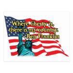 where liberty is v2 postcard