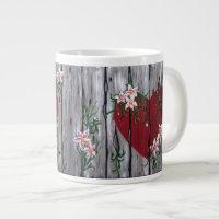 Where Love Grows Large Mug