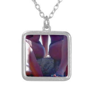 WHERE MEN BELONG SILVER PLATED NECKLACE