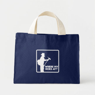Where My Hoes At Canvas Bag