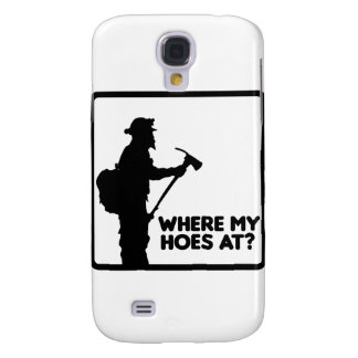 Where My Hoes At Galaxy S4 Covers