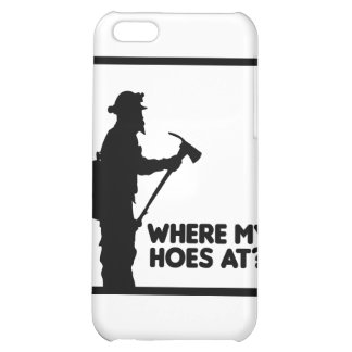 Where My Hoes At iPhone 5C Cover