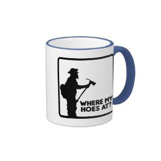 Where My Hoes At Mug