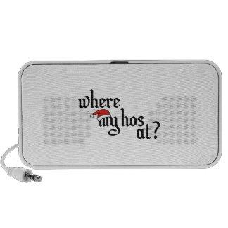 Where My Hos At iPhone Speaker