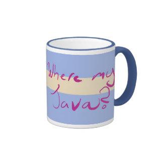 where my java? mug