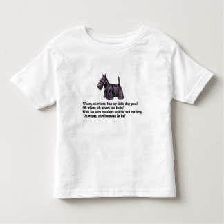 Where, Oh Where Has My Little Dog Gone? T Shirt