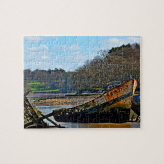 Where old boats go to retire jigsaw puzzles