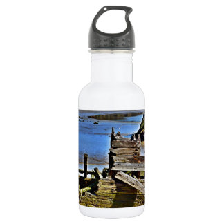 Where old boats go to retire stainless steel water bottle