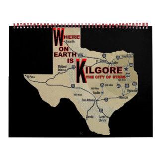 Where on Earth_Kilgore Calendar