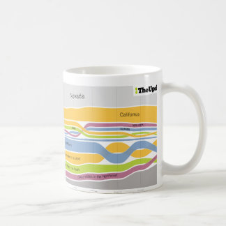Where people who live in Nevada were born Coffee Mug