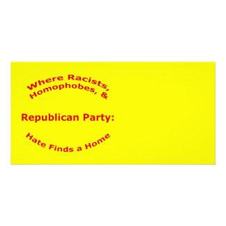 Where Racists, Homophobes, & Hate Card